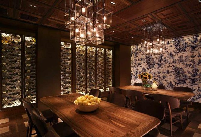 Private Room at 208 Duecento Otto | Image courtesy of 208 Duecento Otto