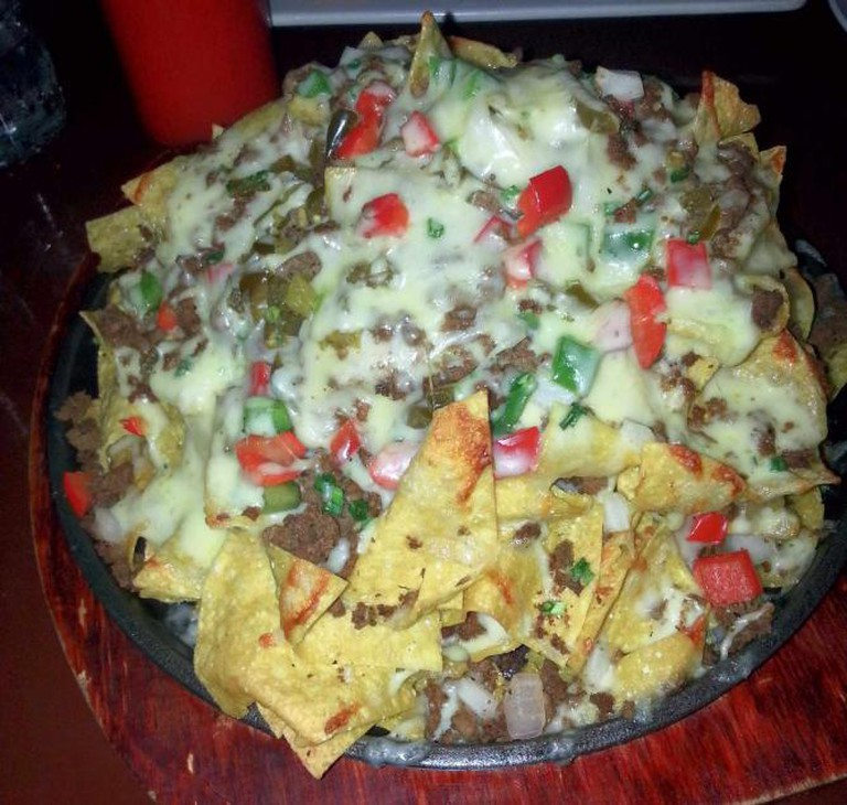 The Shed's Mountainous Nacho Feast | Courtesy of Paul McConnell