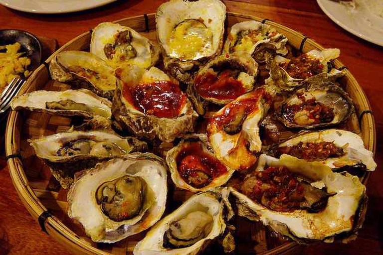griller's oyster platter | © digipam/Flickr