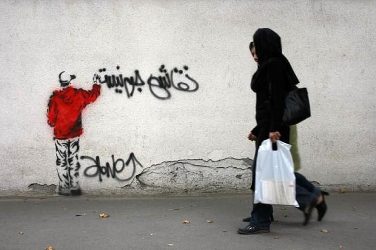 Street Art in Tehran | © Hrag Vartanian/Flickr