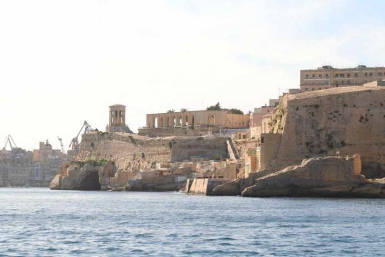 Valletta's coastline