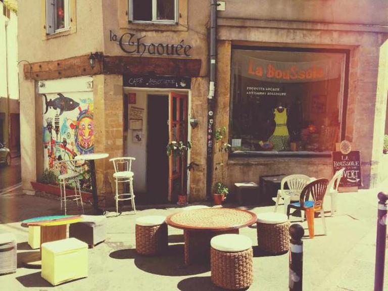 Café terrace | Courtesy of La Chouée