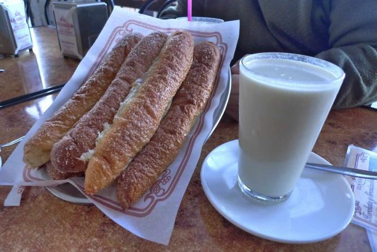 Horchata and Pastries