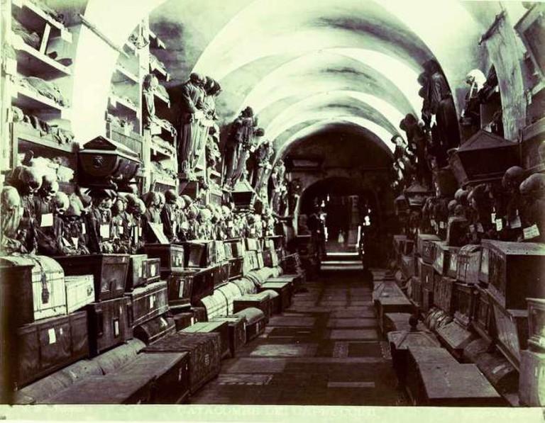 Catacombe dei Cappuccini © Giuseppe Incorpora/Creative Commons