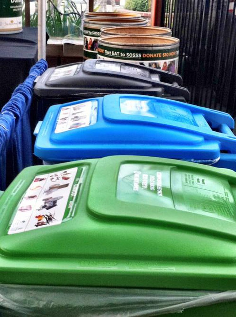 """""""Fantastic 3"""" waste containers 