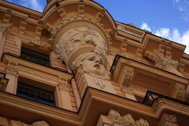 Art Nouveau district in Riga