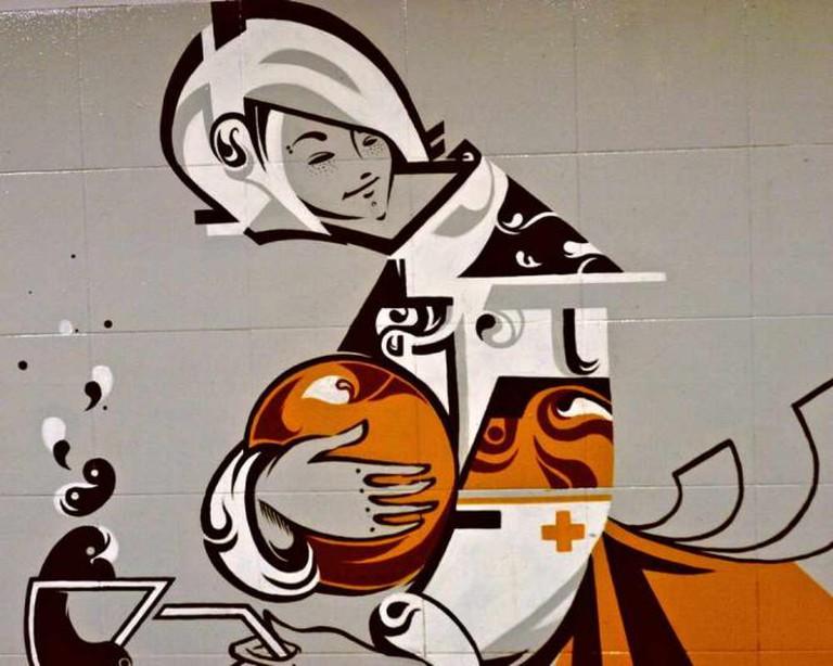 Contemporary/Street Art in Riga