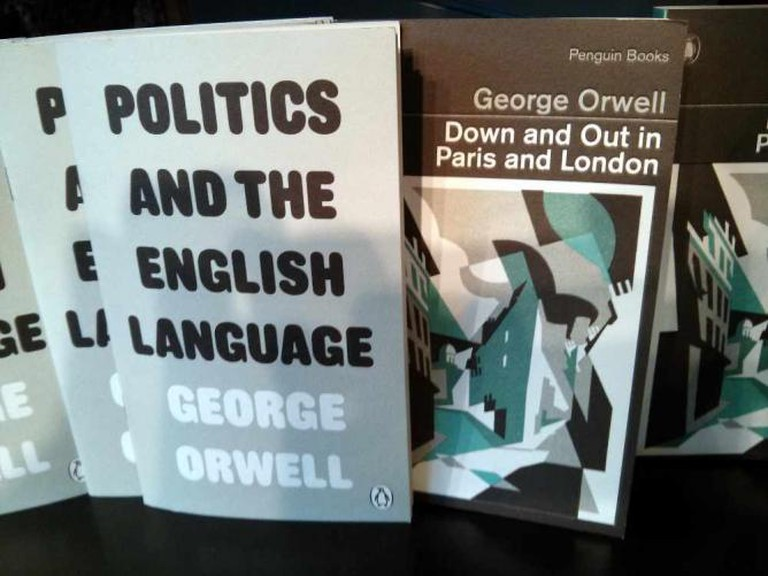 Down and Out in Paris and London by George Orwell   © Cory Doctorow/Flickr