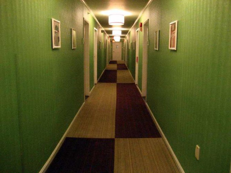 Hallway of Hotel Helix