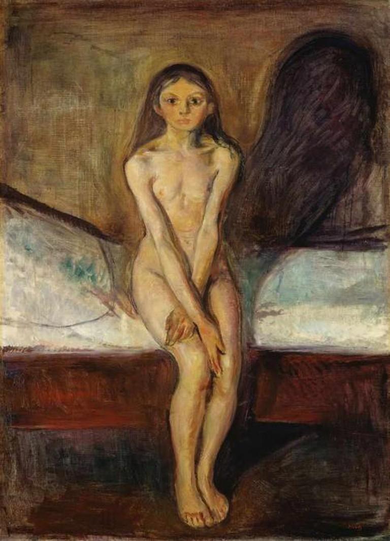 Puberty, 1894-95 | © Munch Museum/WikiCommons