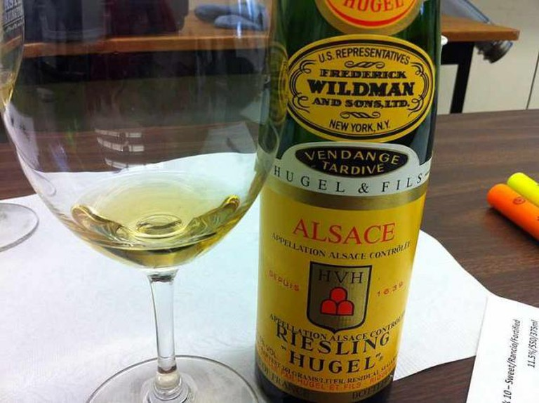 Alsatian Riesling | © Agne27/WikiCommons