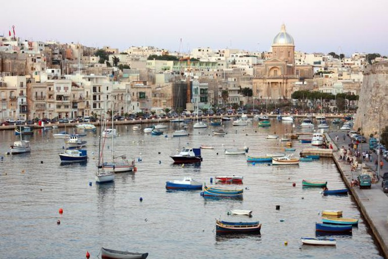 The boats at Vittoriosa