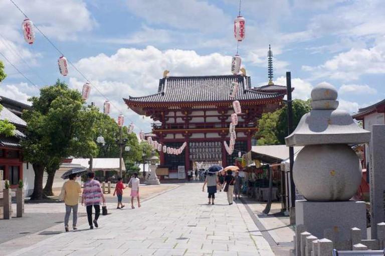 Shintennôji, Osaka | © kzhouy/Flickr