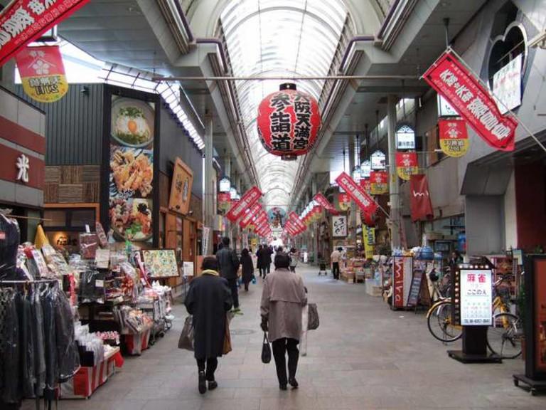 Tenjinbashisuzi shopping arcade | © pelican/Flickr