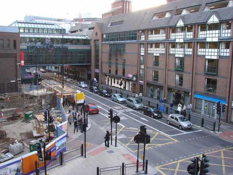 Eldon Garden Shopping Centre   © Bill Henderson/Wikicommons