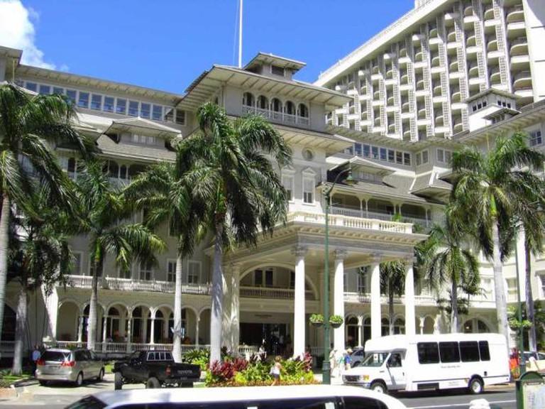 The Moana Surfrider Hotel
