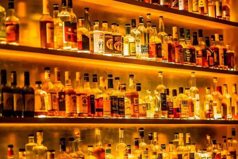 Bourbon Bar l © Thomas Hawk/Flickr