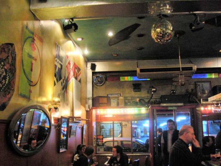 A photo of Dada Bistro's decor