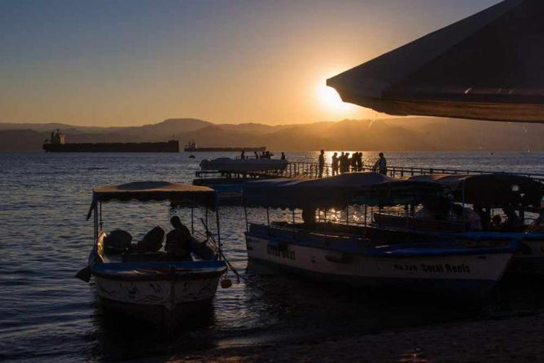 Aqaba city beach