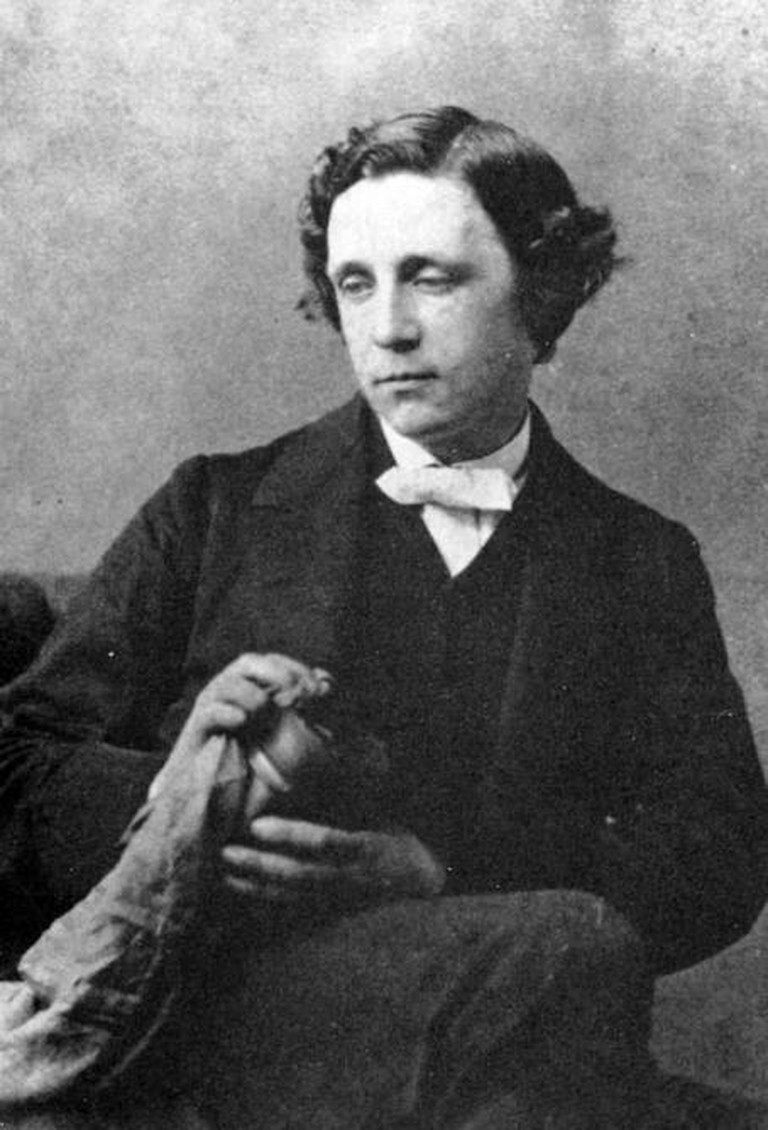 Lewis Carroll (1863) by photographer Oscar Gustave Rejlander | © Racconish/WikiCommons