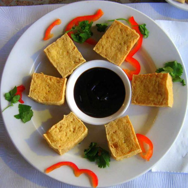 Tofu at One Veg World | ©Joits/Flickr