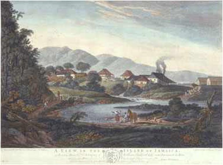 Historic illustration of Roaring River Park |©Wikimedia