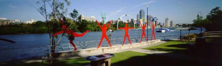 Kangaroo Point public art   © Brisbane City Council/Flickr