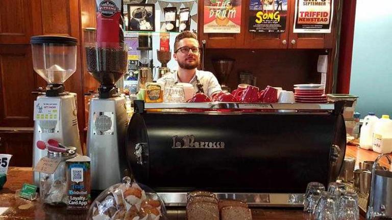 LA Mazocca GB5 | Image courtesy of Frisky Goat Espresso