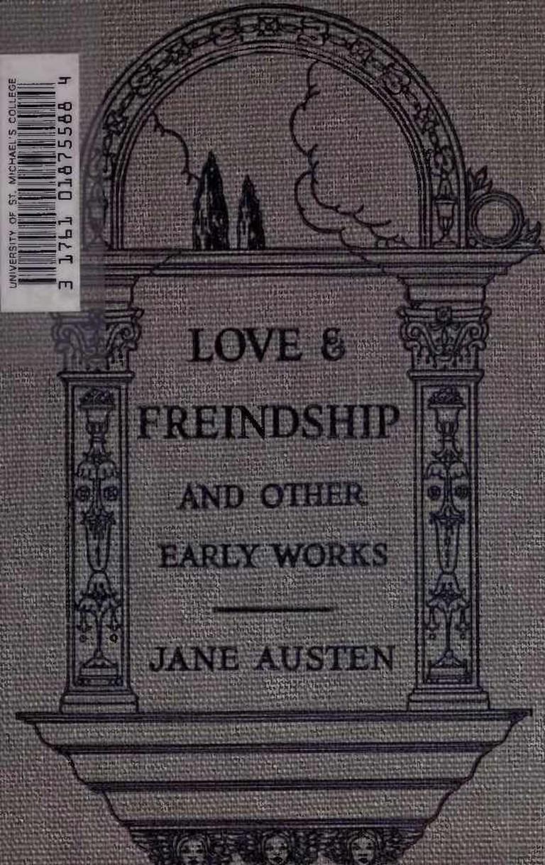 Love and Freindship   © Sapcal22/WikiCommons