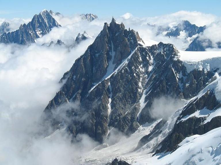 L'Aiguille du Midi (The mountain) © Martin Janner/WikiCommons