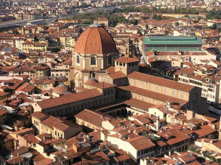 Florence, Italy: Basilica di San Lorenzo   © Darren/Flickr