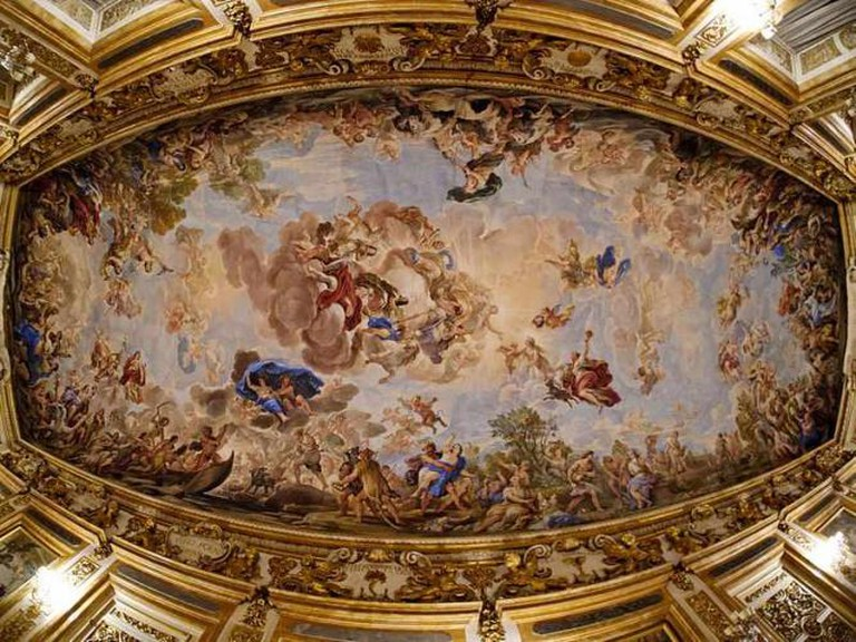 Apotheosis of the Medici family   © Marie-Lan Nguyen/Wikicommons