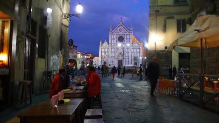S. Croce, Florence - Note di Vino   © smshepard/Flickr