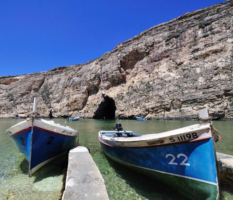 Inland sea at Dwejra Bay