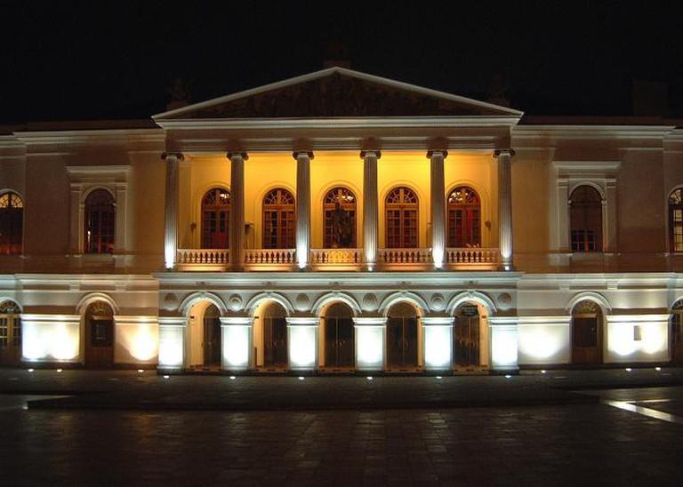 Teatro nacional Sucre en Quito