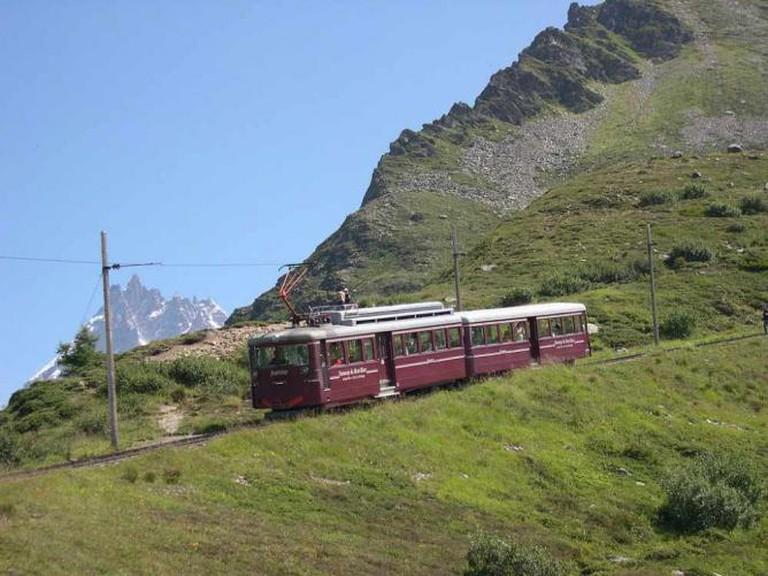 Tramway Mont-Blanc © FredB/WikiCommons