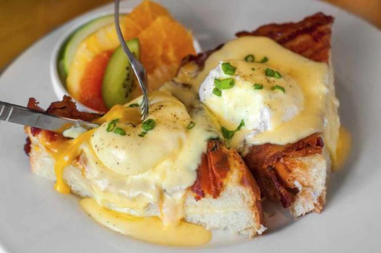 Grilled Cheese Benedict | Courtesy of Bacon & Butter