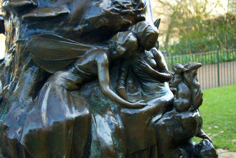 Detail from the Peter Pan Statue   © McKay Savage/Flickr