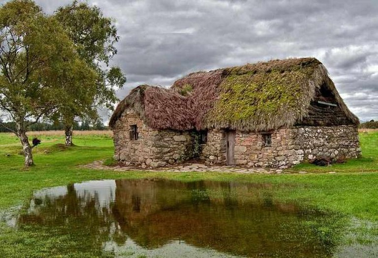 Leanach Cottage , Culloden Moor