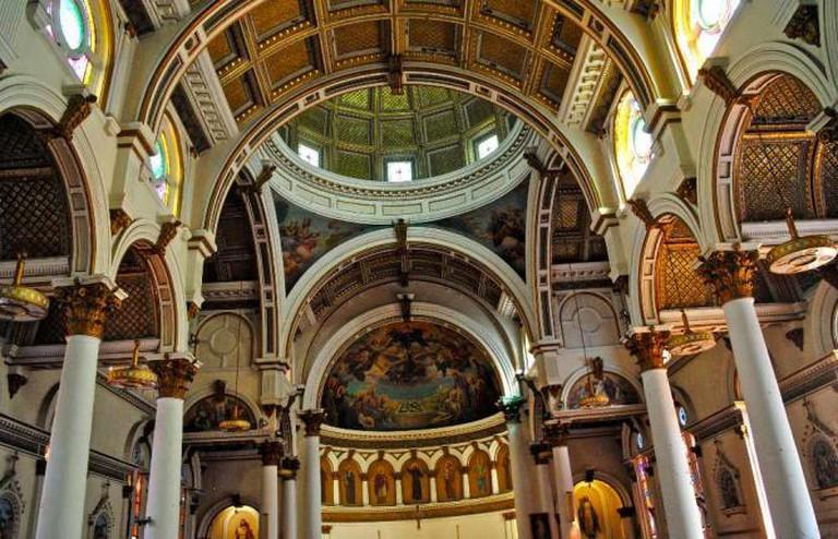 Ceiling of St. Leonard's Church | © Alyssa Erspamer