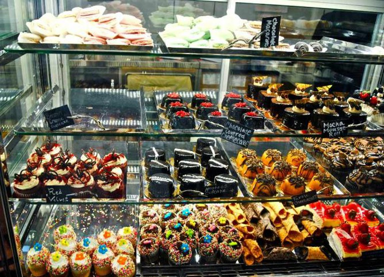 Selection of pastries at Modern Pastry | © Alyssa Erspamer