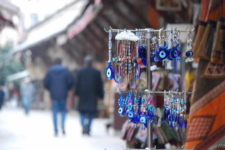Evil Eye Charms at Arasta Bazaar | © SpirosK photography/Flickr