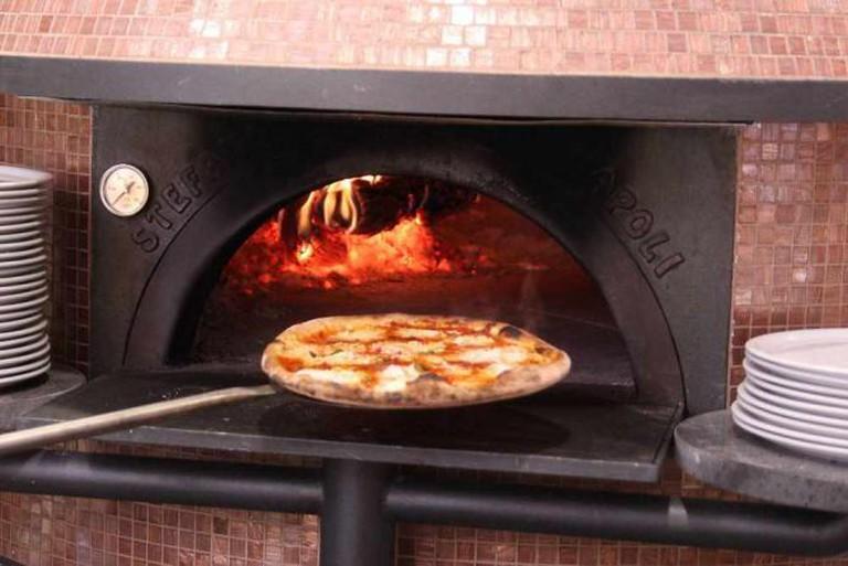 The oven   Courtesy of Pizza Bocca Lupo