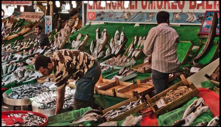 Pescaderos en Kumkapi | © Guillén Pérez/Flickr