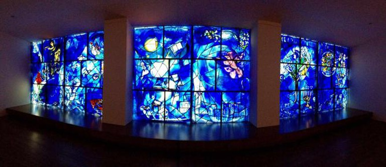 Marc Chagall, Panorama of America Windows, 1977, At The Art Institute of Chicago | © Craft Scotland/Flickr