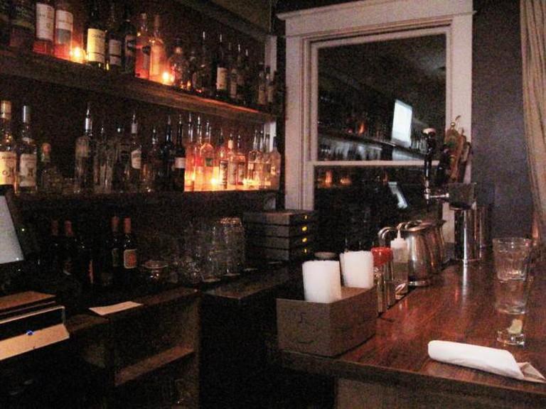 Upstairs bar set, Bourbon Bar DC