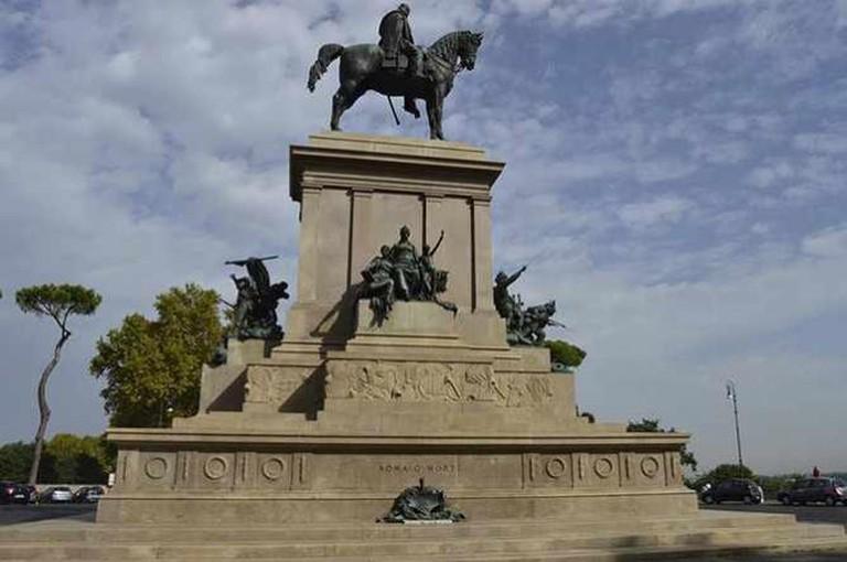 Equestrian Statue of Garibaldi, Piazzale Garibaldi   © Flavia Antonelli