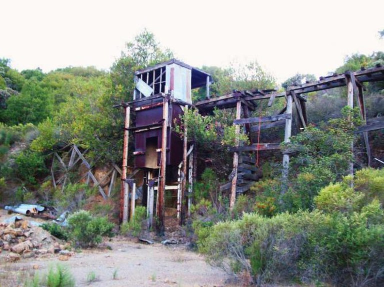Mine ruins at New Almaden County Park | © mlhradio/Flickr