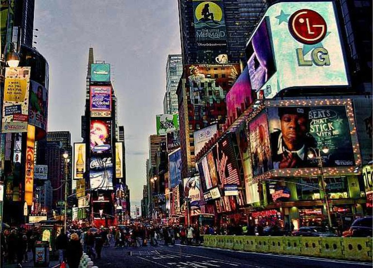 Times Square 2   © Javier Gutierrez Acedo/Flickr