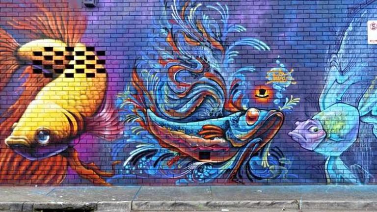 Some of Melbourne's best Street Art | © Dave A Morris/Instagram